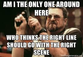 The Big Lebowski Meme - has anyone else noticed the big lebowski asshole meme is a bit off