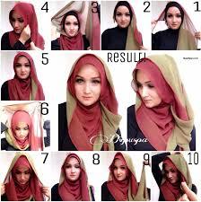 tutorial hijab resmi tutorial hijab segi empat acara formal tutorial hijab paling