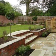 Small Sloped Garden Design Ideas How To Cope With A Sloping Garden Alda Landscapes