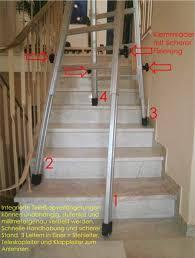 leiter f r treppe teleskopleiter treppenleiter treppenhaus leiter treppenhausleiter