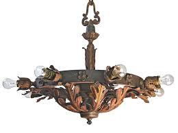 Lodge Lighting Chandeliers 8 Light Masonic Lodge Chandelier Art Deco Victorian Art Nouveau