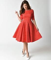 pretty dress the pretty dress company white dot sleeved hepburn swing
