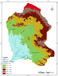 Thematic Map Definition Micro Level Drought Vulnerability Assessment In Peddavagu Basin A