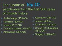 Council Of Chalcedon 451 Ad Church History The 500 Yrs Top 10 The Unofficial Top 10