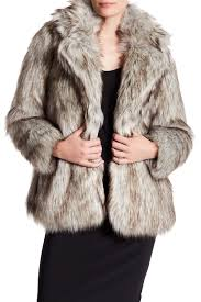 betsey johnson faux fur coat nordstrom rack
