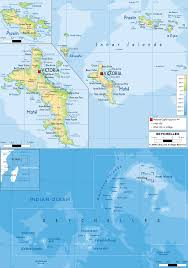 Physical Map Of The United States Physical Map Of Seychelles And Seychellois Physical Map