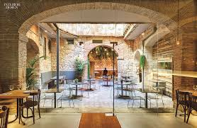 Interior Stone Arches 10 Global Restaurants Deliver Design à La Carte
