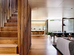 recycled tallowwood salvaged from an old bridge in nsw was used on