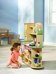little tikes premium cooking creations wood kitchen amazon co uk