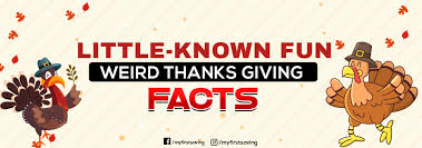 known thanksgiving facts myfirstsaving