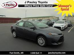 price of a toyota corolla 2018 toyota corolla le only 229 a month fort smith ar 20379341