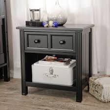 bed u0026 bath medium oak tall skinny nightstand with drawer for