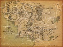 Map Of Oxford Ohio by Middle Earth With European Countries At The Same Scale Hobbiton