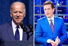 Joe Biden Resume Joe Biden Visits Stephen Colbert Monday To Launch U201cbook U201d Tour