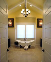 claw tub bathroom traditional with beadboard blue claw foot tub claw tub bathroom traditional with baseboards beadboard ceiling lighting chandelier claw foot