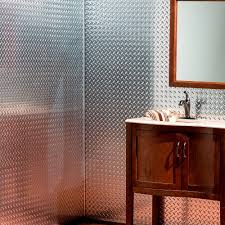 fasade diamond plate 96 in w x 48 in h x 0 013 in d decorative