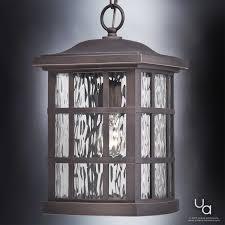 craftsman outdoor pendant light uql1251 craftsman outdoor pendant light 15 h x 9 5 w parisian