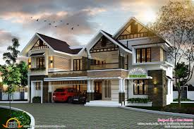 Homeplan Com by Sloping Roof Cute Home Plan Kerala Home Design And Floor Plans
