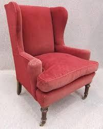 Victorian Armchair Antique Winged Armchair Victorian Armchair