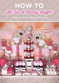 best 25 pink candy table ideas on pinterest pink candy buffet