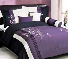 Neon Pink Comforter Black And Purple Comforter Bedding U2013 Ease Bedding With Style