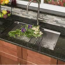 lenova ledge series 15 x 10 undermount or topmount kitchen sink