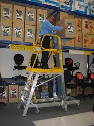platform ladder with lifting platform platform ladders