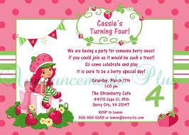 printable birthday invitations strawberry shortcake strawberry shortcake party invitations free printable on strawberry