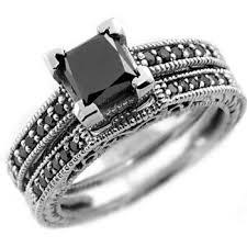 wedding ring sets south africa the precious black diamond wedding rings for women rikof