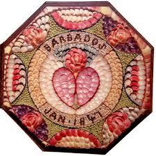 sailor valentines antique sailor sailor valentines seashell mosaics
