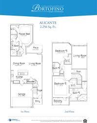 portofino luxury townhomes floor plans