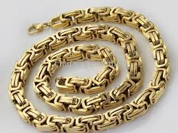 mens byzantine necklace gold images 62 expensive gold chains for mens cheap iced out hip hop pendants jpg