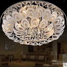 Ceiling Lights Cheap by 60cm Modern Led K9 Crystal Flushmount Ceiling Lighting Lamp