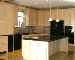 cream glazed kitchen cabinets home decoration ideas