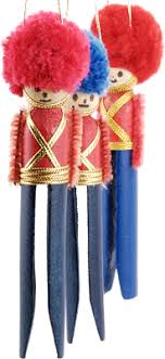 altogether crafts clothespin soldier ornaments