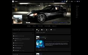 Black Minimalist by Facebook Theme Dark Minimalist Black Theme By Everplex On Deviantart