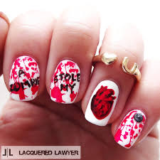 lacquered lawyer nail art blog february 2015