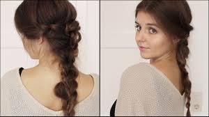 Schicke Frisuren by Schicke Und Einfache Flechtfrisur Hochsteckfrisur Frisuren