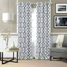Black And White Window Curtains Black Curtains Living Room L Polyester Single Blackout Window