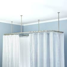 brilliant bathroom best 25 shower curtain rods ideas on pinterest