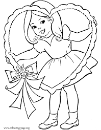 valentine heart coloring pages cute coloring