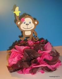 Baby Monkey Centerpieces by Monkey Centerpiece Decoration Monkey Baby Shower By Blueskygirls