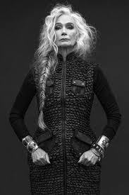 long silver braid white hair gray hair granny hair going gray