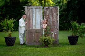 Pedretti Party Barn Steph U0026 Cody U0027s Wedding Groomsmen Hamming It Up On Silo