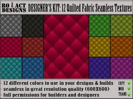 second marketplace ro act designs 12 quilted fabric