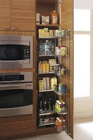 Pull Out Pantry Cabinets For Kitchen Tall Pantry Pull Out Tandem Cabinet Kitchen Craft