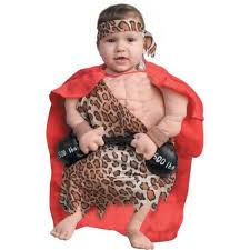 Newborn Infant Halloween Costumes Baby Halloween Costumes Funny Newborn Baby Muscle Man Costume 0