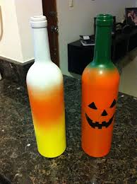 wine bottle o lanterns 8 steps with pictures