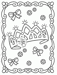 princess crown coloring princess crown coloring pages