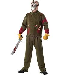 Jason Halloween Costume Party Friday 13th Costumes Accessories Party Supplies Gifts